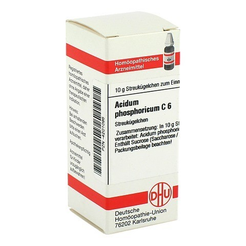 ACIDUM PHOSPHORICUM C 6 Globuli 10 Gramm N1