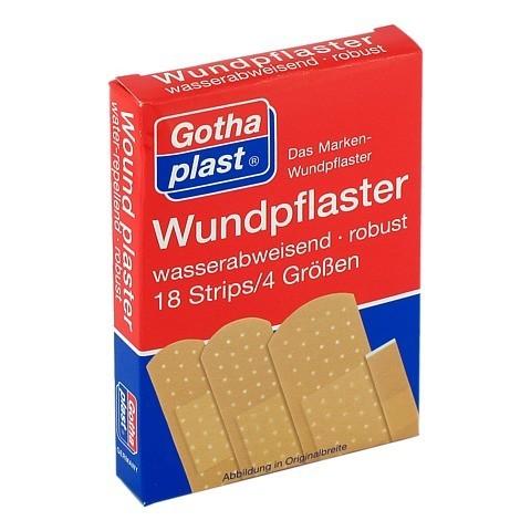 GOTHAPLAST Wundpfl.wasserf.4 Größen 18 Stück