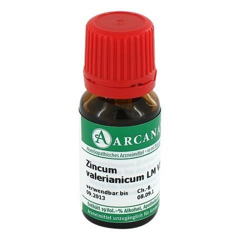 ZINCUM VALERIANICUM Arcana LM 6 Dilution 10 Milliliter N1