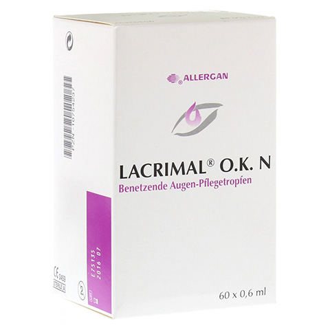 LACRIMAL O.K. N Augentropfen 60x0.6 Milliliter