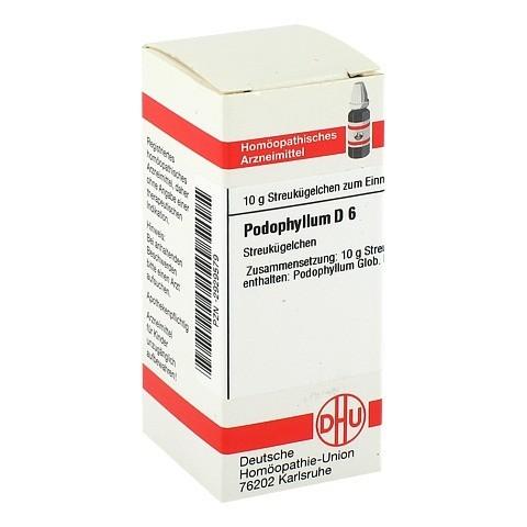 PODOPHYLLUM D 6 Globuli 10 Gramm N1