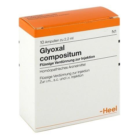 GLYOXAL compositum Ampullen 10 Stück N1