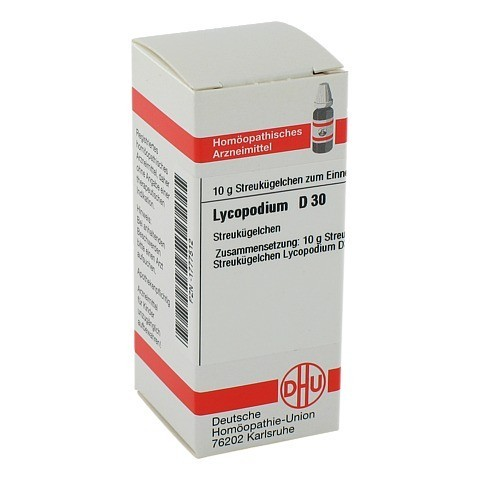 LYCOPODIUM D 30 Globuli 10 Gramm N1