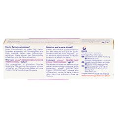 ELMEX Zahnschmelzschutz PROFESSIONAL Zahnpasta 12 Milliliter - Rückseite