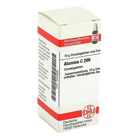 ALUMINA C 200 Globuli 10 Gramm N1