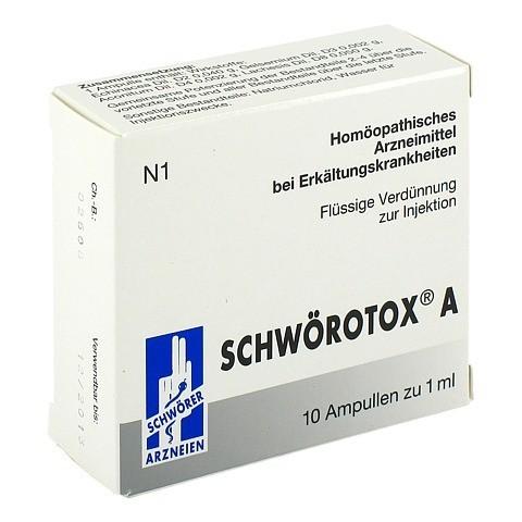 SCHW�ROTOX A Ampullen 10x1 Milliliter N1