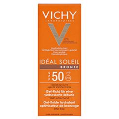VICHY IDEAL SOLEIL BRONZE Ges.Gel LSF 50 50 Milliliter - Vorderseite