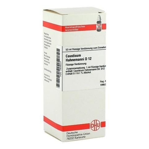 CAUSTICUM HAHNEMANNI D 12 Dilution 50 Milliliter N1