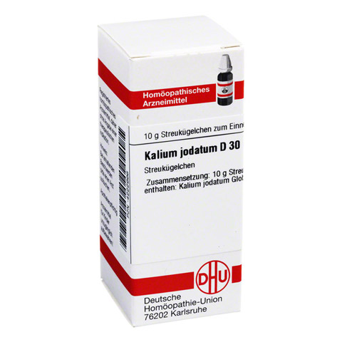 KALIUM JODATUM D 30 Globuli 10 Gramm N1