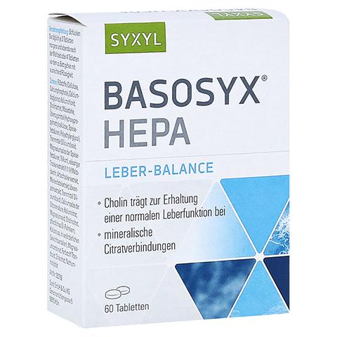 BASOSYX Hepa Syxyl Tabletten 60 Stück