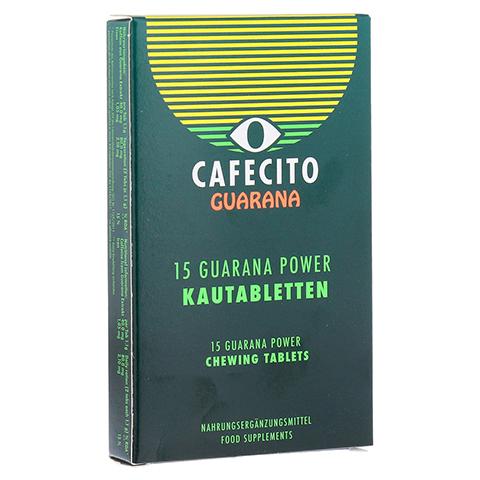GUARANA CAFECITO Kautabletten 15 St�ck