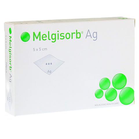 MELGISORB Ag Verband 5x5 cm 10 St�ck