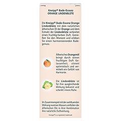 KNEIPP BADE-ESSENZ Orange Lindenblüte 100 Milliliter - Rückseite