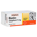 BIOTIN RATIOPHARM 5 mg Tabletten 90 St�ck