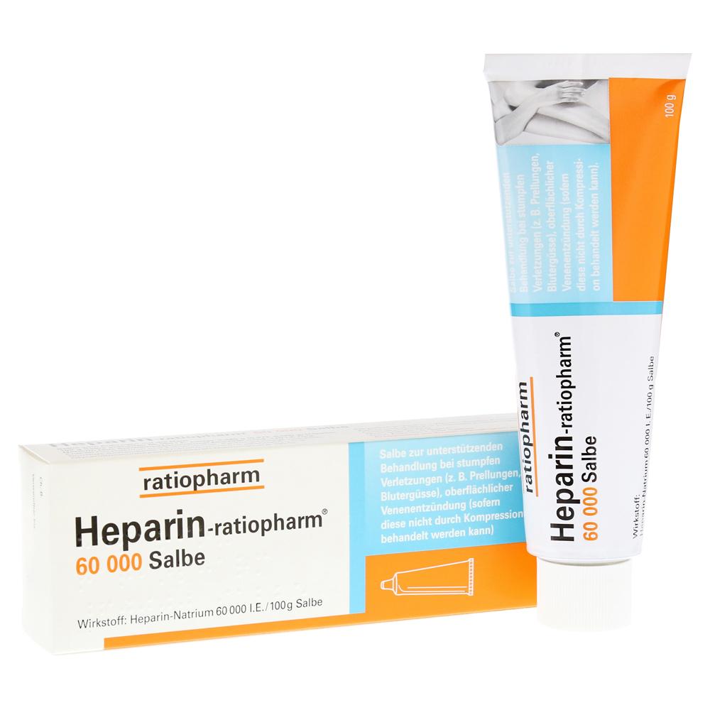ratiopharm GmbH Heparin-ratiopharm 60000 Salbe 100 Gramm