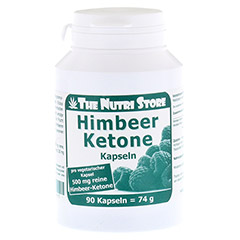 HIMBEER KETONE 500 mg Kapseln 90 St�ck
