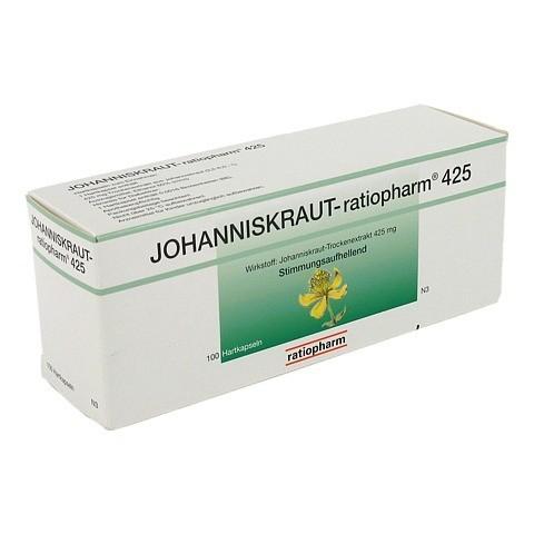 JOHANNISKRAUT-ratiopharm 425mg 100 Stück N3