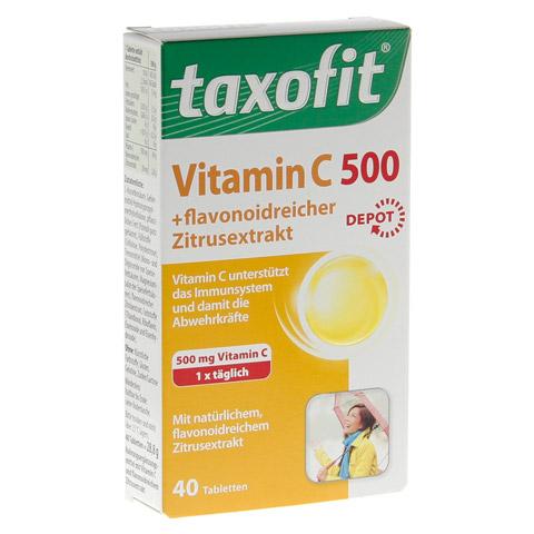 TAXOFIT Vitamin C 500 Depot Tabletten 40 Stück