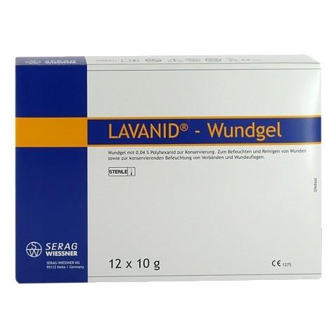 LAVANID Wundgel 12x10 Gramm