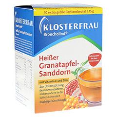 KLOSTERFRAU Broncholind heißer Granatapfel-Sandd. 10x15 Gramm