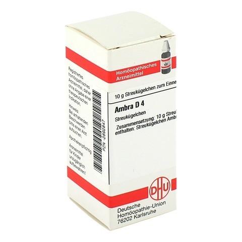 AMBRA D 4 Globuli 10 Gramm N1