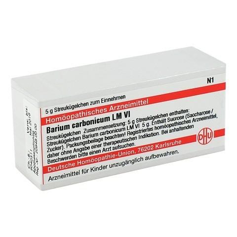 LM BARIUM carbonicum VI Globuli 5 Gramm N1