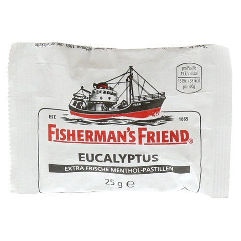 FISHERMANS FRIEND Eucalyptus mit Zucker Pastillen 25 Gramm