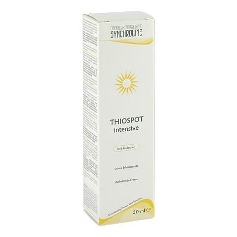 SYNCHROLINE Thiospot Intensiv Creme 30 Milliliter