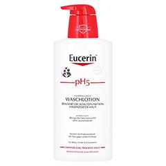 EUCERIN pH5 Waschlotion empfindliche Haut m.Pumpe 400 Milliliter