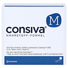 CONSIVA M Nährstoff-Formel Pulver Sachets 57 Stück - Vorderseite