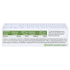 VITAMIN C 500 mg Depot Tabletten 60 Stück - Linke Seite