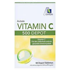 VITAMIN C 500 mg Depot Tabletten 60 Stück - Vorderseite