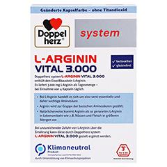 Doppelherz system L-arginin Vital 3.000 Kapseln 120 Stück - Rückseite