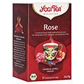 YOGI TEA Rose Bio Filterbeutel 17x2 Gramm