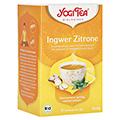 YOGI TEA Ingwer Zitrone Bio Filterbeutel 17x1.8 Gramm