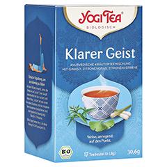 YOGI TEA Klarer Geist Bio Filterbeutel 17x1.8 Gramm