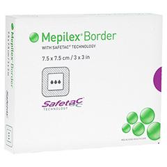 MEPILEX Border Schaumverband 7,5x7,5 cm 5 Stück
