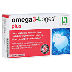 omega3-Loges plus 60 Stück