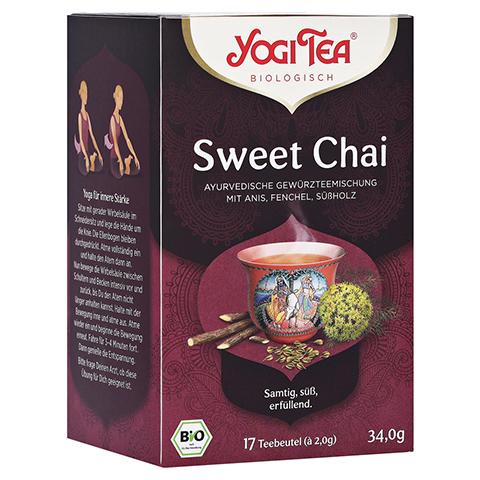 YOGI TEA Sweet Chai Bio Filterbeutel 17x2 Gramm