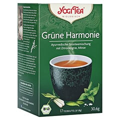 YOGI TEA grüne Harmonie Bio Filterbeutel 17x1.8 Gramm