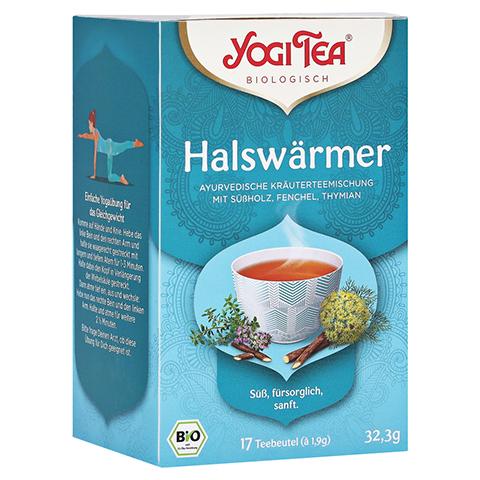 YOGI TEA Halswärmer Bio Filterbeutel 17x1.8 Gramm
