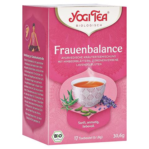 YOGI TEA Frauen Balance Bio Filterbeutel 17x1.8 Gramm