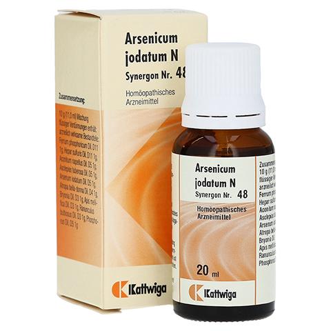 SYNERGON KOMPLEX 48 Arsenicum jodatum N Tropfen 20 Milliliter