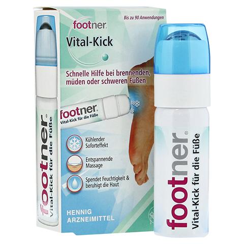 FOOTNER Vital-Kick für die Füße Dosierschaum 50 Milliliter