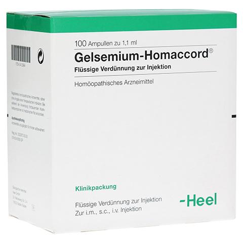 GELSEMIUM HOMACCORD Ampullen 100 Stück N3