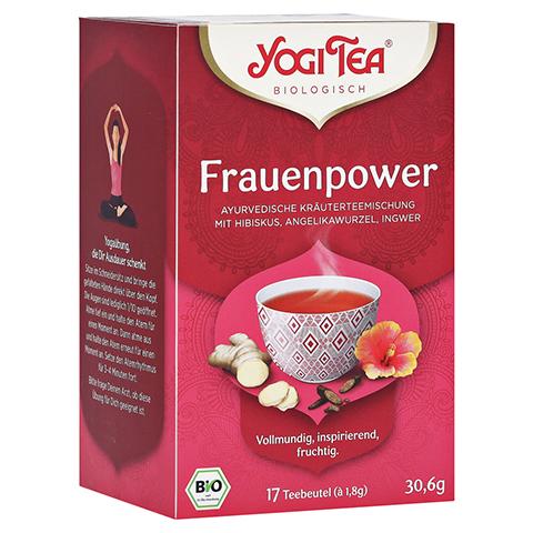 YOGI TEA Frauen Power Bio Filterbeutel 17x1.8 Gramm