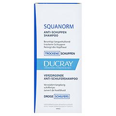 DUCRAY SQUANORM trockene Schuppen Shampoo 200 Milliliter - Vorderseite