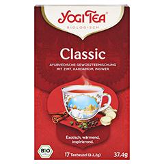YOGI TEA Classic Bio Filterbeutel 17x2.2 Gramm - Vorderseite