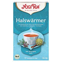 YOGI TEA Halswärmer Bio Filterbeutel 17x1.8 Gramm - Vorderseite