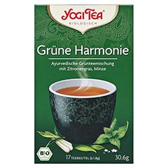 YOGI TEA grüne Harmonie Bio Filterbeutel 17x1.8 Gramm - Vorderseite